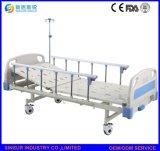 ISO/Ce Qualitätschina-Lieferanten-manuelles doppeltes Funktions-Kosten-Krankenhaus-Bett