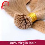Extensiones planas del pelo humano de la extremidad de Remy de la Virgen europea