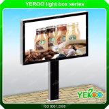 Cartelera publicitaria solar al aire libre de la iluminación de la ciudad de la muestra