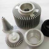 L'OEM assiste l'alluminio si è sporto dissipatore di calore di alluminio lavorante di CNC