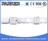 Parker heißer Verkaufs-horizontale isolierende Glas-Reinigung und trocknende Maschine