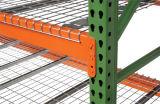 Estante resistente de la paleta del almacén de la cubierta del alambre