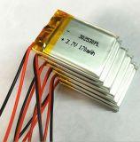 3.7V再充電可能なリチウムポリマー電池200mAh