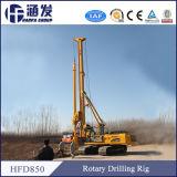 Prix usine, plate-forme de forage de dessus hydraulique de la pile Hfd856 à vendre