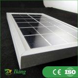 Painel solar solar Monocrystalline de painel 3W6V com frame da liga de alumínio