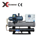 Refrigerador de agua de los compresores del tornillo de la refrigeración por aire de la alta capacidad del CE