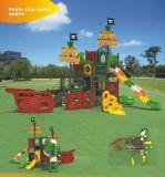 Campo da gioco per bambini di pirata di Kaiqi di tema di medie dimensioni della nave (KQ9093A)