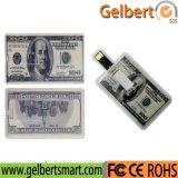O melhor plástico do preço disco instantâneo do USB do cartão dos dólares americanos