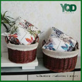 Lcloth Double Handle Decoration Wicker Basket.로