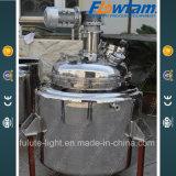 5000L de Rol die van het roestvrij staal het Chemische Schip van de Reactie verwarmen