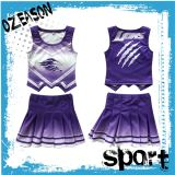 Jupe de Cheerleading d'impression de Digitals de vêtements de sport d'Ozeason