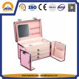 Reizender tragender kosmetischer Fall mit Spiegel (HB-1004)