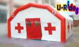 20 persoons Medische Tenten Opblaasbaar met Rode Kruis