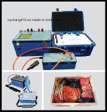 Imagem latente do Resistivity, Tomography de Geo, Tomograph elétrico, Resistivity geofísico, detetor da água à terra, deteção da água subterrânea,
