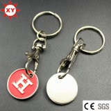 Fornitori Direct Sell Trolley Coin Keyring per Supermarket