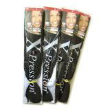 Новое приезжанное X-Pression оплетки Kanekalon оплетки волос выдвижение 100% волос Jumbo синтетическое Lbh 039