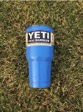 бутылка чашки Yeti Tumbler Rambler кружки автомобиля 20oz 30oz 12oz нержавеющая серебряная цветастая