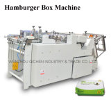 Máquina fácil da cartonagem do cartão da alta qualidade da operação (QH-9905)