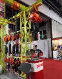 Construction universelle levant la grue électrique de pièces de rechange de machine-outil