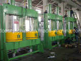 Máquina de prensa de cura de pneus de molde duplo com hidráulica automática