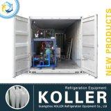 Grote Capaciteit 10 Ton/de Dag Containerized Machine van het Blok van het Ijs van China