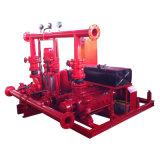화재 싸움 물 디젤 엔진 전기 경마기수 펌프 세트