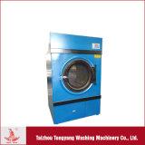 Máquina de lavar industrial com o secador para o hotel e o hospital