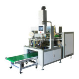 サーボ制御Automatic Rigid Box Four Corners TapingかPasting Machine (YX-400)