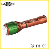 조정가능한 260 루멘 크리 사람 XP-E LED 재충전용 야영 빛 (NK-06)