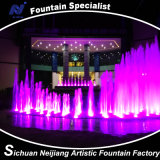 Musica Dancing Fountain con Lighting variopinto