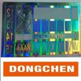 Anti-Vervalst van het Bewijs van de scheur de Sticker van het Hologram