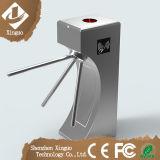 Torniquete impermeável do tripé do aço inoxidável com leitor de RFID