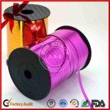 Lockige Farbbänder mit Drucken für dekorative Verpackung