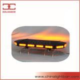 Diodo emissor de luz ambarino mini Lightbar da tampa de alumínio preta (preto de TBD08966-14-4T)