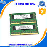 Fabriek Manufacturer 256MB*8 16c DDR3 4GB RAM Memory voor Laptop