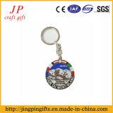 Heißer Verkaufs-kundenspezifische Firmenzeichen-Schlüsselring-Serie, Metallkunst-Schlüsselkette