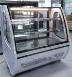 Embraco 압축기를 가진 2개의 선반 빵집 전시 생과자 냉각기 진열장