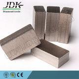 Marmor und Kalkstein, die rechteckiges Diamant-Segment schneiden