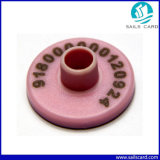 Heiße verkaufende bedruckbare Ohr-Marke des Tier-RFID (QFRFIDTAG-004)