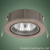 Aluminio ajustable GU10 MR16 Downlight ahuecado LED para el hogar