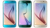 "Original genuina para S6 teléfono celular abierto de Lte ROM 32GB RAM 3GB base Octa teléfono móvil G925 borde S6 G920 16MP 5.1 """