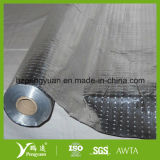 高品質PEによって薄板にされる反射編まれたファブリックアルミホイルの絶縁体
