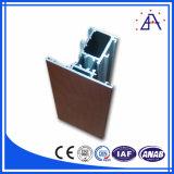 Profil en aluminium d'extrusion des graines 2016 en bois avancées de fournisseur chinois du principal 10