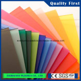 Le plexiglass matériel de feuille de la qualité PMMA de Buliding a moulé la feuille acrylique