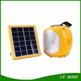 Iluminação Emergency solar que caminha a luz de acampamento com porta do USB para cobrar móvel