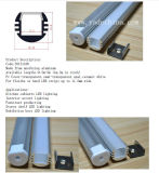 Perfil de aluminio de aluminio del LED Extrusion/LED para la luz de tira del LED