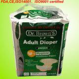 Pañal disponible del adulto de la incontinencia de la mejor calidad