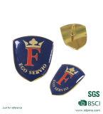 ねじ(xd-09046)が付いているカスタム車の紋章のロゴのバッジ