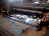Material de construção do ferro ondulado/placa de telhadura galvanizada do metal