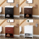 Fed 1243 24 Inch Thin와 Slim Cheap Espresso Solid Wood Bathroom Cabinets